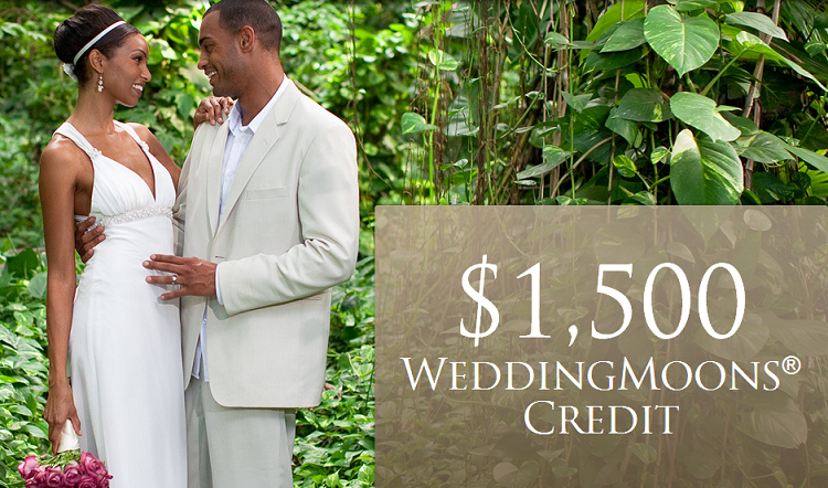 $1500 WeddingMoons Credit Available At Sandals Resorts