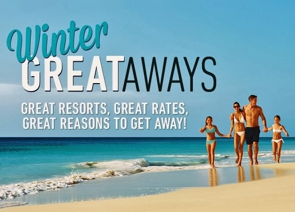 WINTER GREATAWAYS PROMOTIONS!