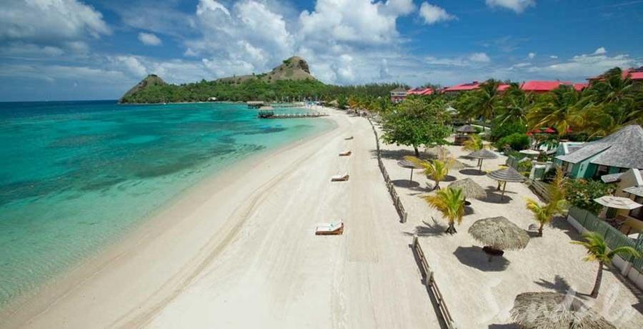 Grande Resort Lada Sandals StLucian Travel 0w8PnOk